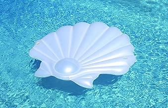 Swimline Seashell Island Extra Large Swimming Pool Float