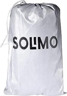 Amazon Brand - Solimo Maruti S-Cross Water Resistant Car Cover (Silver)