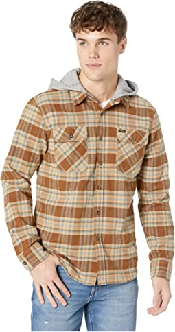 Bowery Hood Long Sleeve Flannel