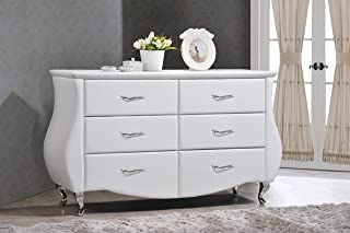 faux leather 3 drawer chest