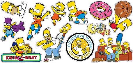 The Simpsons decoration stickers vinyl waterproof 12pcs (Homer)