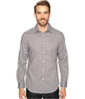 Perry Ellis - Checkered Dobby Shirt