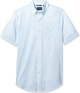 Men's Short Sleeve Button Down Comfort Flex Shirt