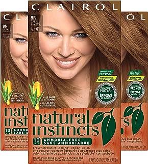 Clairol Natural Instincts Hair Color, Shade 7 9nv/coastal Dune, 3 Count