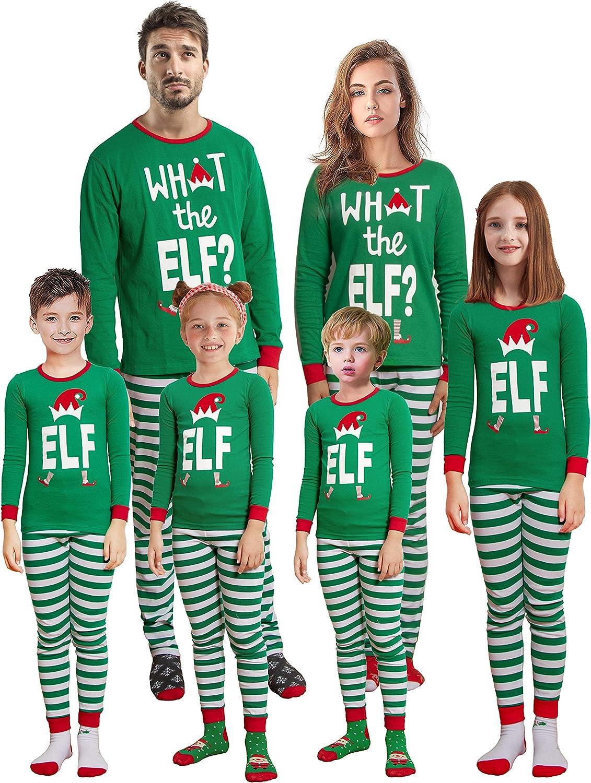 Christmas Family Matching Red Holiday Pajama PJ Sets
