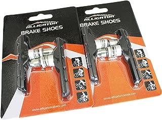 Alligator V-Brake MTB Mountain Bicycle Bike Threaded Type Brake Shoes Pads (2 Pair)