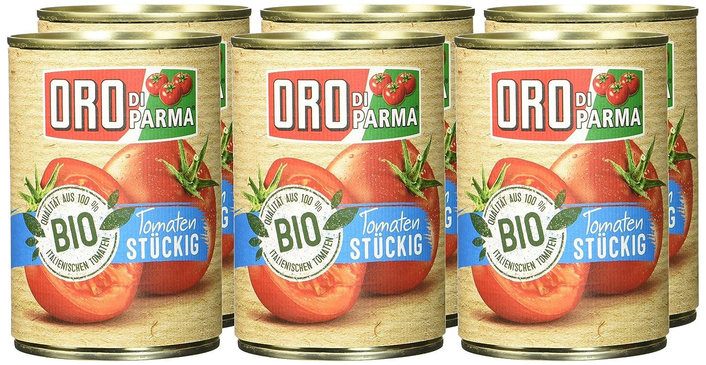 Oro di Parma stueckige Tomaten   BIO, 8er Pack 8 x 8 g ...