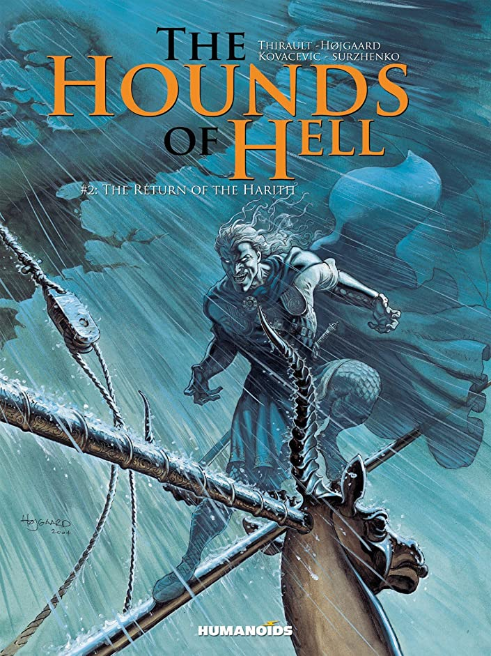 有力者省略するアンタゴニストThe Hounds of Hell Vol. 2: The Return of the Harith (English Edition)