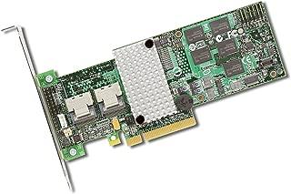 BROADCOM MegaRAID SAS 9260-8i controlado Raid PCIe 2.0 6 Gbit/s - Controlador Raid (SAS, SATA, PCIe, 0, 1, 5, 6, 10, 50, 60, 512 MB, 6 Gbit/s, 8 Canales)