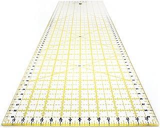 OfficeTree Règle universelle pour des découpes précises - Transparente et lisible - 60 x 16 cm - Graduation en CM et indic...