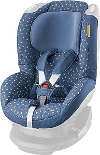 Maxi-Cosi Tobi - Funda para silla de bebé para el coche, color negro cristal azul azul vaquero a corazones