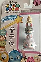 Disney Tsum Tsum Series 6! 3-Pack Figures: Miss Bunny/Judy Hopps/White Rabbit Tsparkle Tsurprise Limited Edition Figures