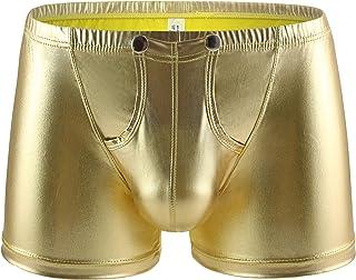 Eywlwaar Men's Sexy Boxer Briefs Low Rise Pouch Trunks Underwear Cool Design