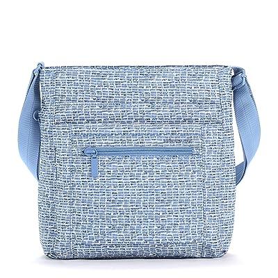 Hedgren Orva RFID Shoulder Bag (Craft Blue Print) Shoulder Handbags
