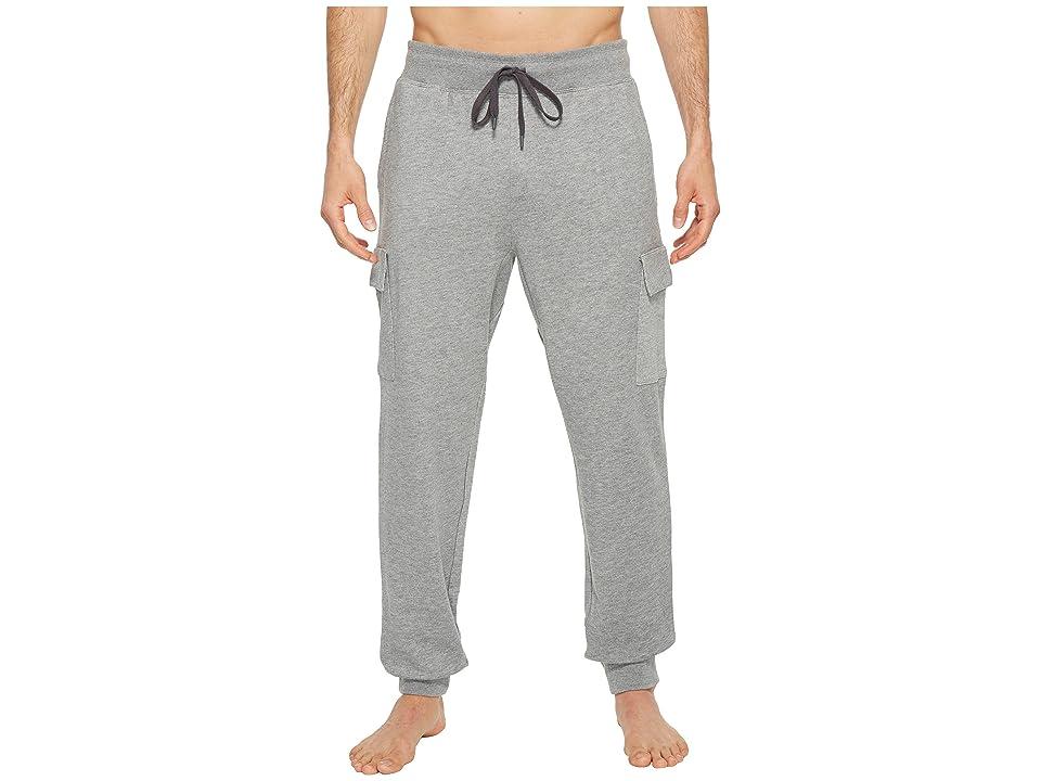 2(X)IST Core Bottoms Cargo Sweatpants (Medium Heather Grey) Men