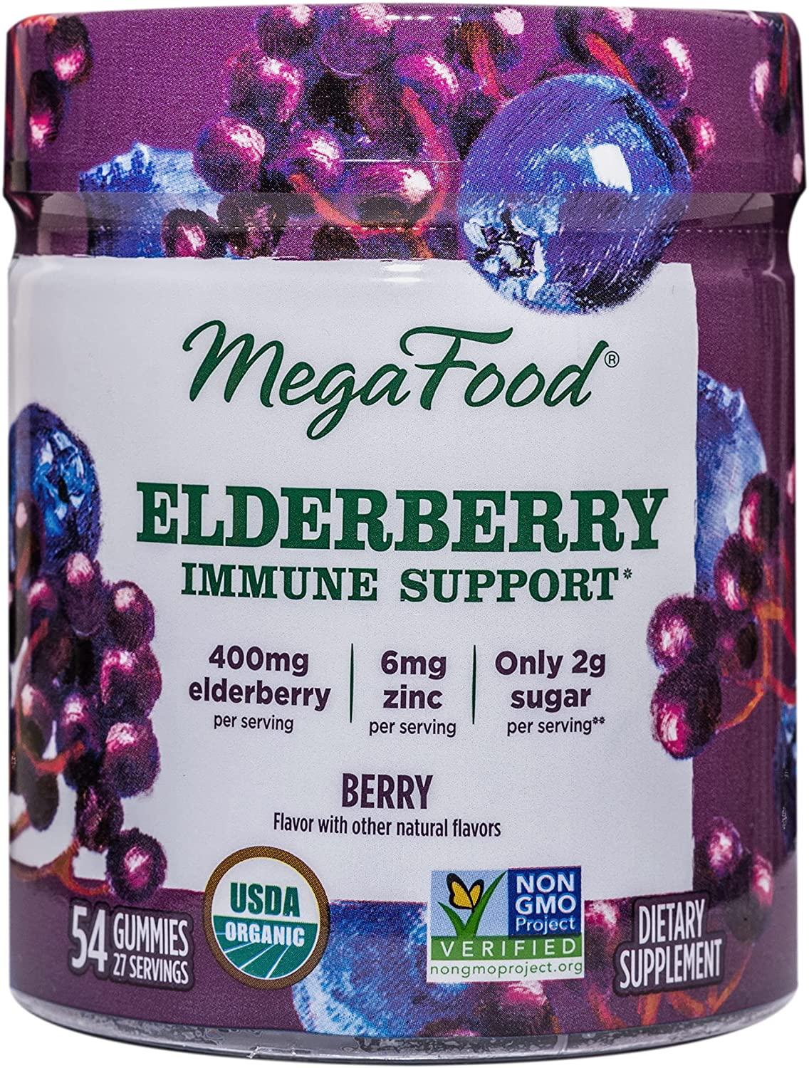 MegaFood Ranking TOP9 Elderberry Immune Support Gummies Sup Soft Chew Berry Quality inspection