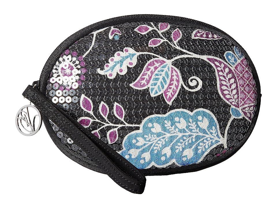Vera Bradley Oval Shimmer Wristlet (Alpine Floral) Wristlet Handbags
