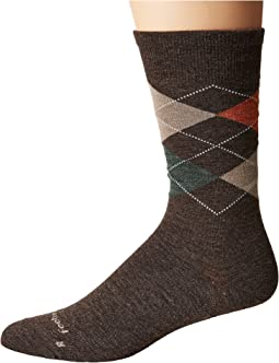 Feetures - Argyle Ultra Light Crew Sock