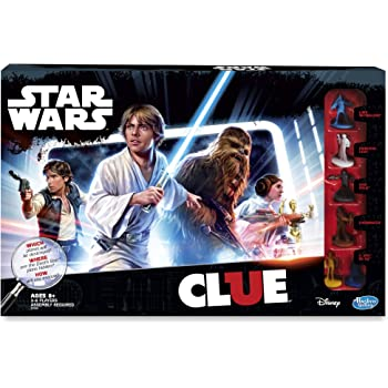 Hasbro Clue Game: Star Wars Edition