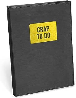 Knock Knock Crap To Do Pad Folio