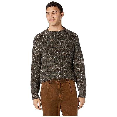Frye Aidan Roll Neck Sweater (Grey Multi) Men