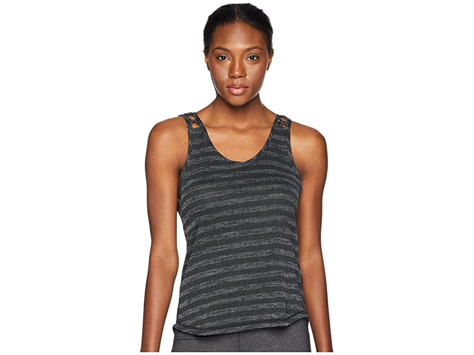 Prana Serene Tank Top (Black) Women