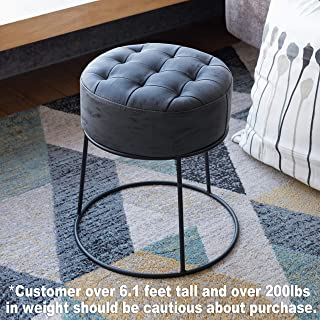 Best round leather footstool Reviews