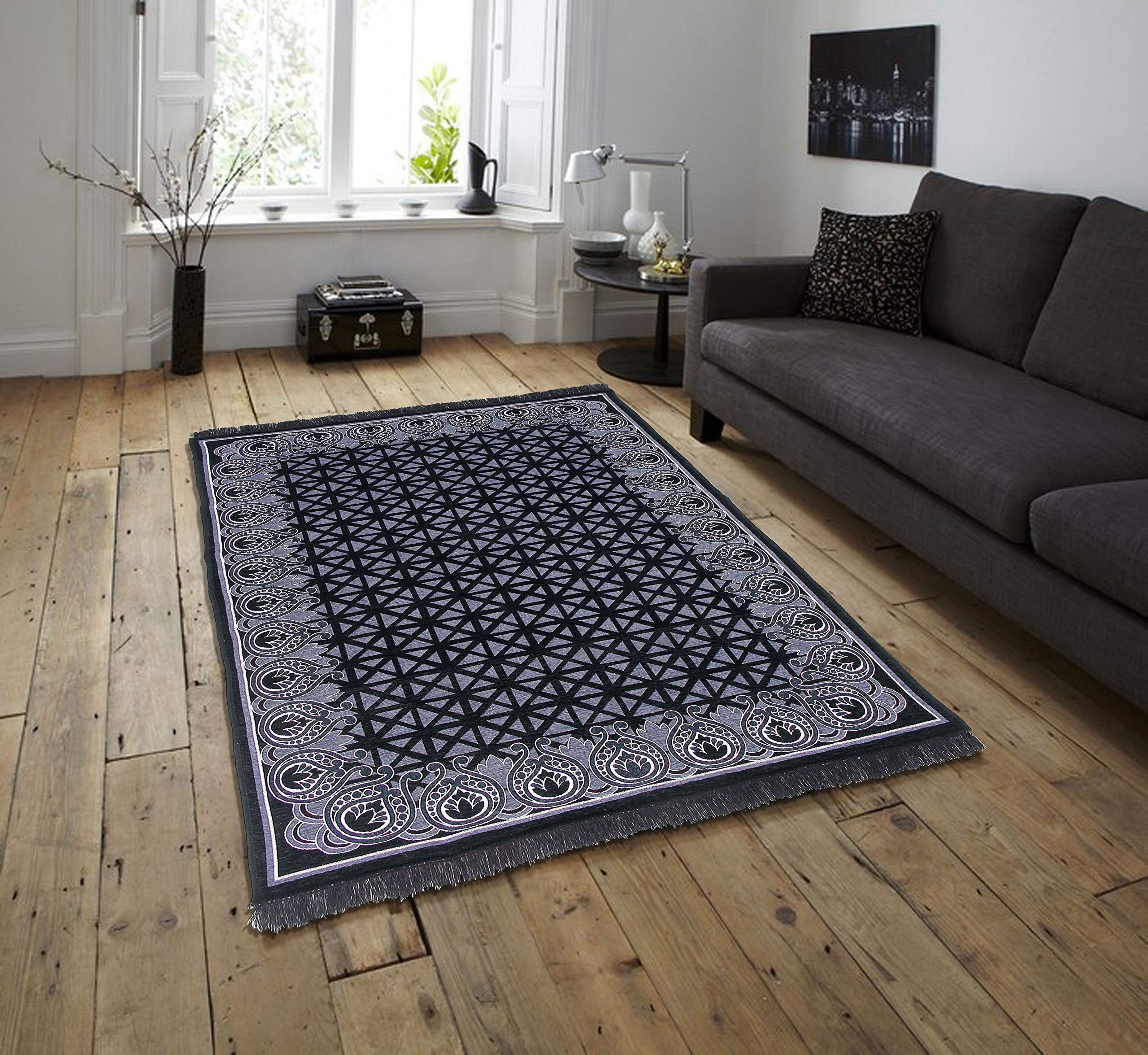 Braids Home Jacquard Weaved Multi Chennile Bedroom Living Room Rugs And Carpets 42 Buy Online In Guernsey At Guernsey Desertcart Com Productid 94132902