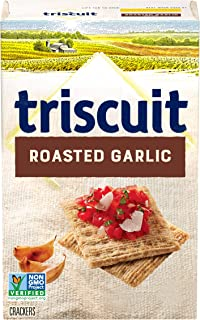 Triscuit Roasted Garlic Whole Grain Wheat Crackers, 8.5 oz