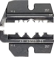 Knipex 97 49 59 Crimping Dies For Solar Cable Connectors Helios H4 (Amphenol)