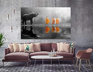 art behind hotel paintings