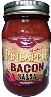 Hawaiian Style Bacon & Pineapple Salsa (Gourmet All Natural)
