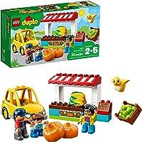 LEGO DUPLO Town Farmers Market Building Blocks (26 Piece)