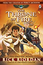 The Kane Chronicles: The Throne of Fire: The Graphic Novel