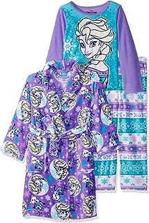 Girls' Frozen 3-Piece Robe Pajama Set