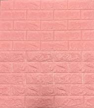 3D-behang, wandpanelen, zelfklevend, baksteen, waterdicht, wandpanelen, zelfklevend, moderne wandbekleding in steen-look, ...