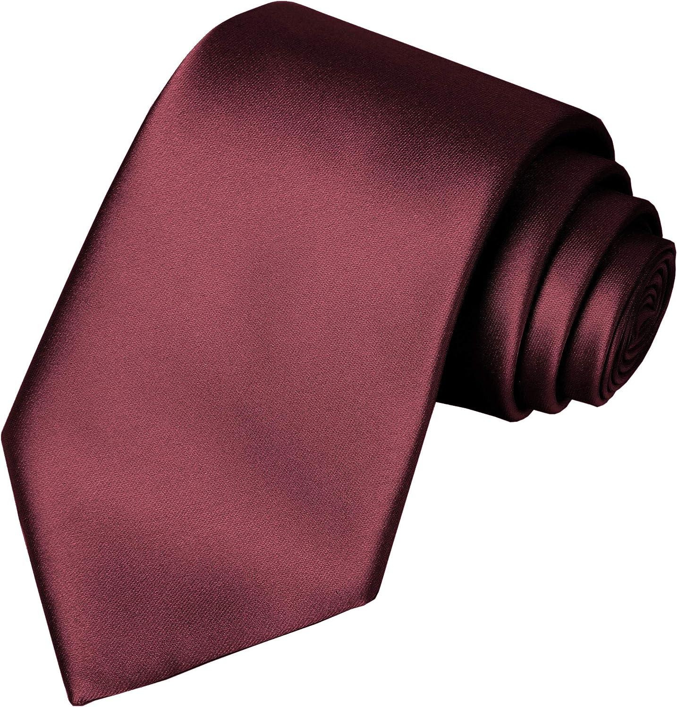 KissTies Boys Tie Satin Necktie For Teens Ties + Gift Box