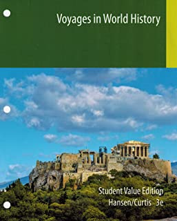 Voyages in World History 3rd Edition (Access Code with New Book Only) IRSC WOH2012