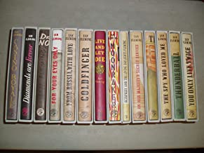 The James Bond Novels - Fourteen Volume Set First Edition Library Facsimiles In Slipcases. Casino Royale, Diamonds Are For...