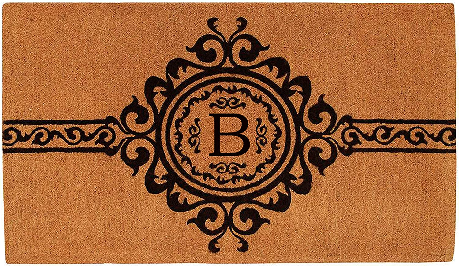 Calloway Mills 180072436B Garbo Monogram Extra-Thick Doormat Seattle Mall Opening large release sale 2'