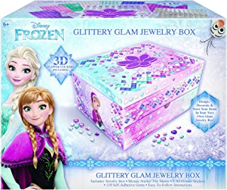 Frozen DIY Glittery Glam Jewelry Box Disney