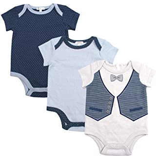 Baby Boys 3-Pack Onesie Bodysuits