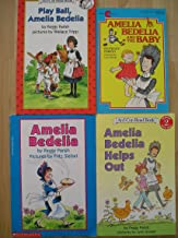 Play Ball, Amelia Bedelia; Amelia Bedelia Helps Out; Amelia Bedelia; Amelia Bedelia and the Baby (4 books)