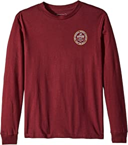 Vans Kids - Established 66 Long Sleeve T-Shirt (Big Kids)