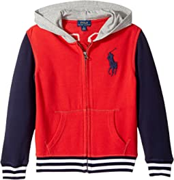 Polo Ralph Lauren Kids - Cotton French Terry Jacket (Little Kids/Big Kids)