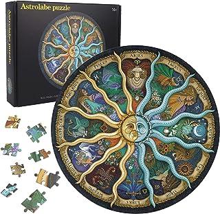 Herefun 1000 Pièces Puzzle Rond, Puzzles Classiques, Intellectual Game Puzzle Difficile Grand Puzzle Créatif Jouet Puzzle ...
