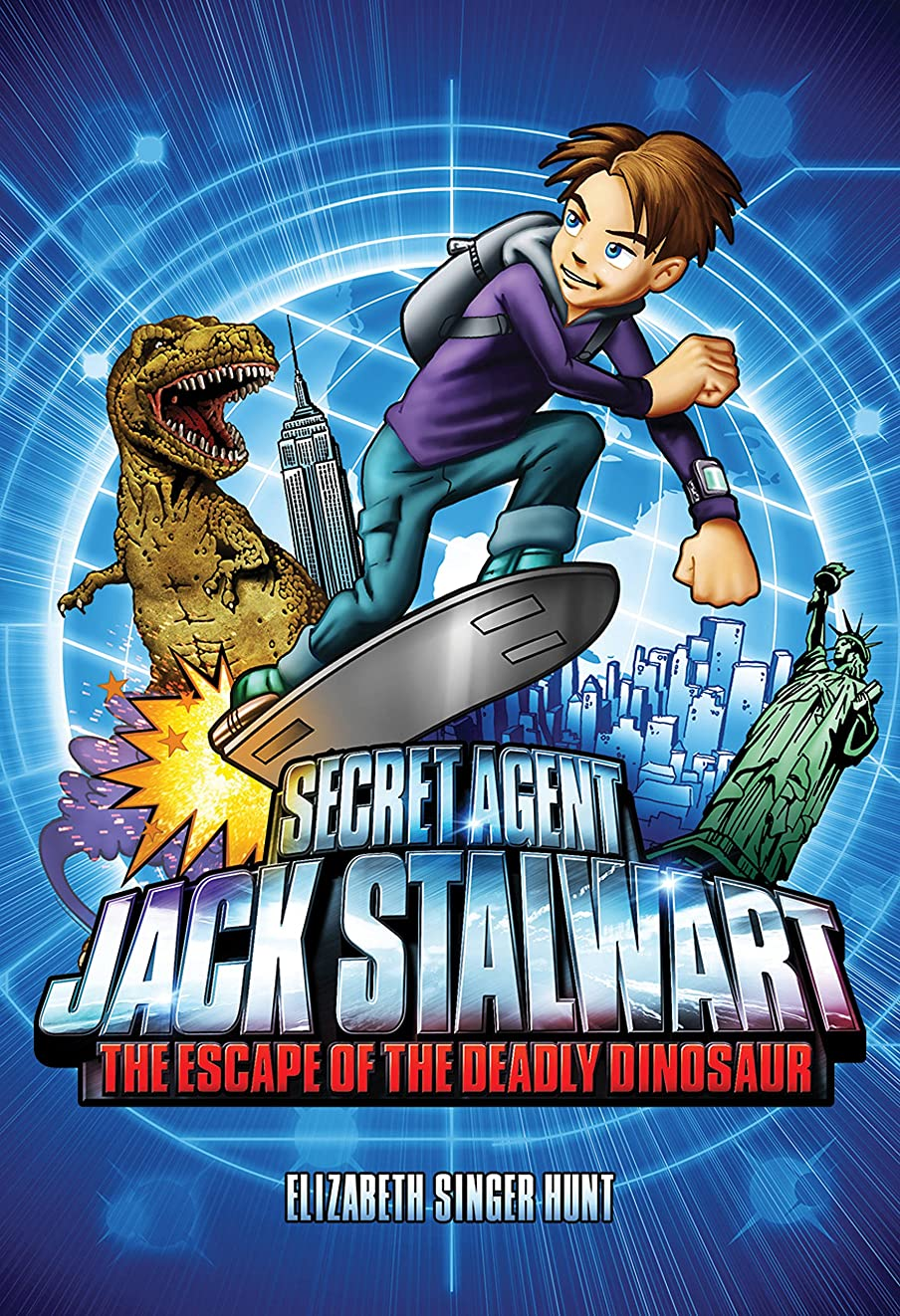 ビジョン今概してSecret Agent Jack Stalwart: Book 1: The Escape of the Deadly Dinosaur: USA (The Secret Agent Jack Stalwart Series) (English Edition)