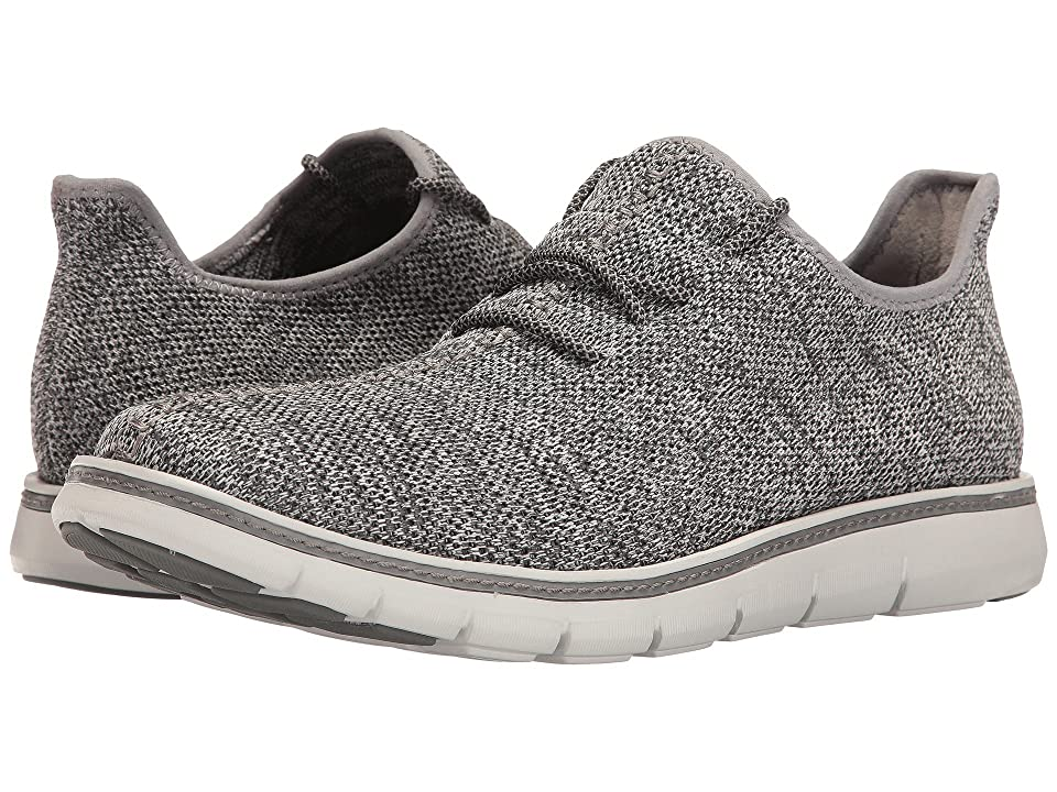 Mark Nason Royce (Grey Heather Flat Knit/Gray Welt/Grey Bottom) Men