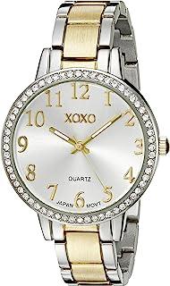 XOXO Women's XO5847 Analog Display Analog Quartz Two Tone Watch