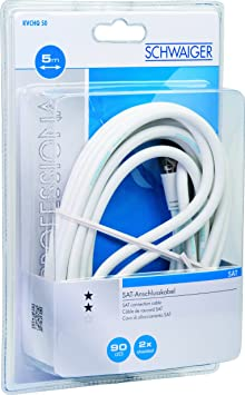 Schwaiger Kvchq15 533 Sat Empfängerkabel Elektronik
